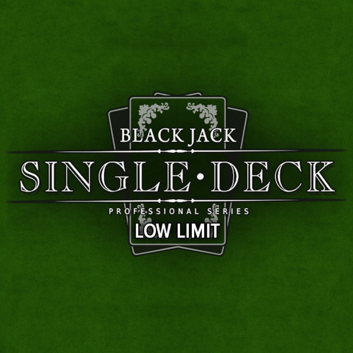 Blackjack singledeck low
