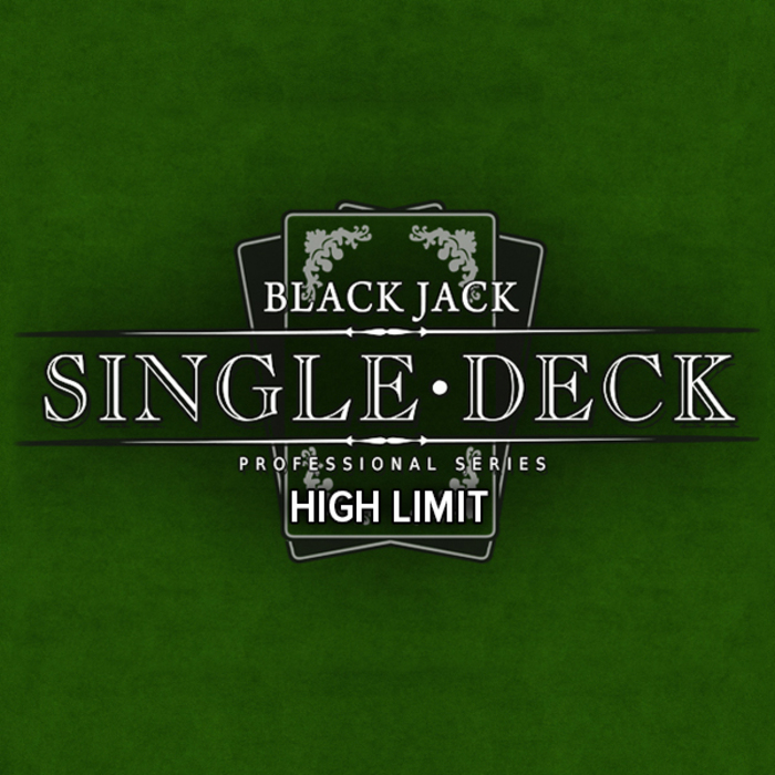 Blackjack singledeck high