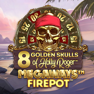 Supercasino game thumbs 300x300 8 golden skulls of holly roger